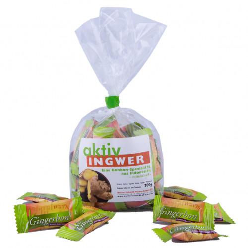 aktiv Ingwer-Bonbons, 200 G, Werner Schmidt Pharma GmbH