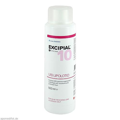 Excipial U10 Lipolotio, 500 ML, Galderma Laboratorium GmbH