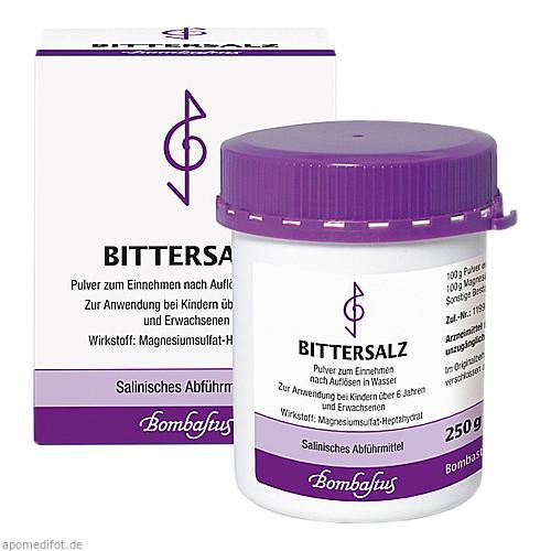 Bittersalz (Magnesiumsulfat), 250 G, Bombastus-Werke AG