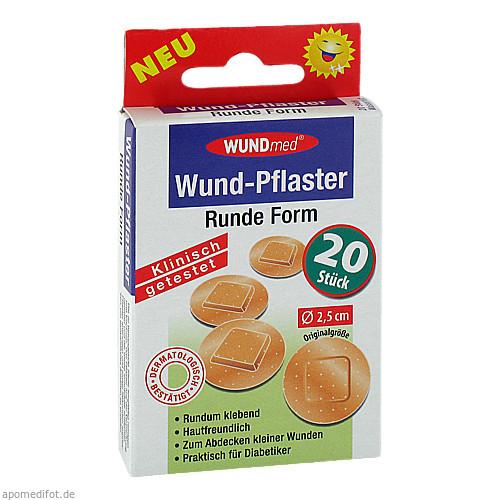 WUND-PFLASTER RUND 2.5cm, 20 ST, Axisis GmbH