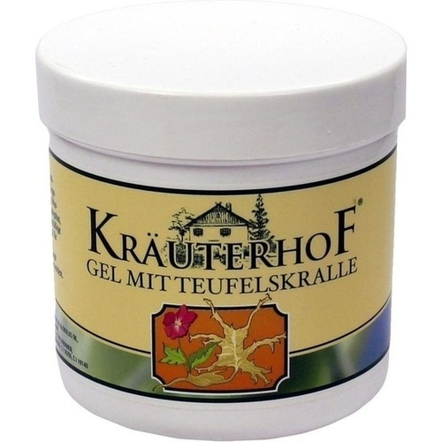 TEUFELSKRALLE GEL KRÄUTERHOF, 250 ML, Axisis GmbH