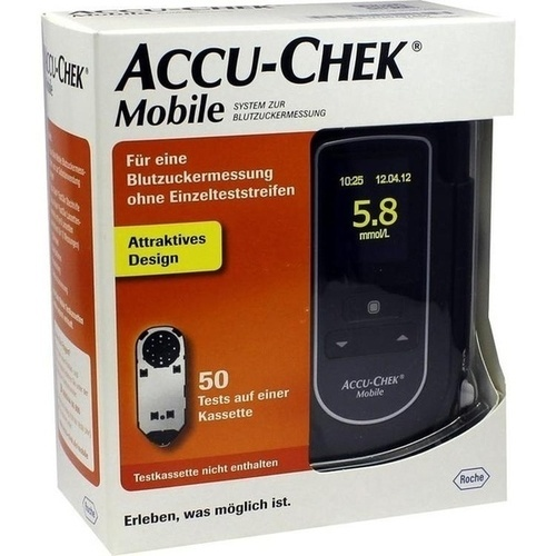 Accu-Chek Mobile Set mmol/l III, 1 ST, Roche Diabetes Care Deutschland GmbH