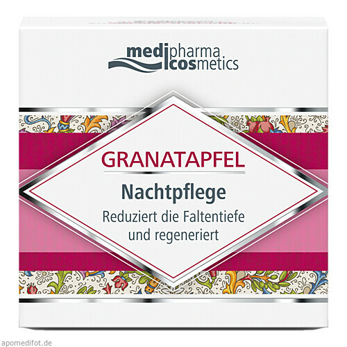 Granatapfel Nachtpflege, 50 ML, Dr. Theiss Naturwaren GmbH