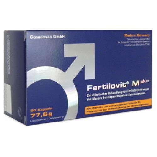 Fertilovit M Plus, 90 ST, Gonadosan Distribution GmbH