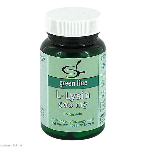 L-Lysin 500mg, 60 ST, 11 A Nutritheke GmbH