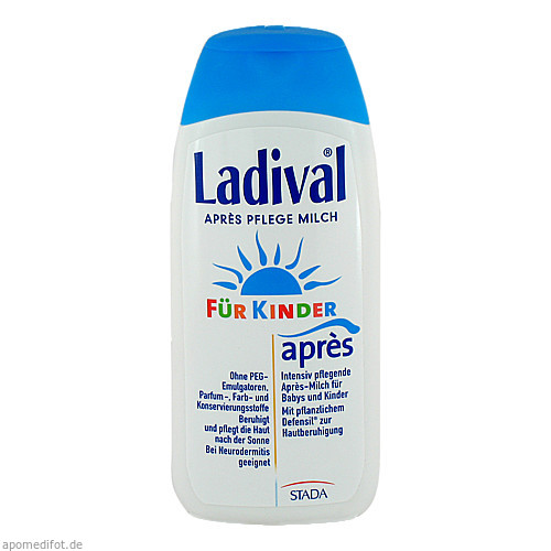 Ladival für Kinder Apres Lotion, 200 ML, STADA GmbH