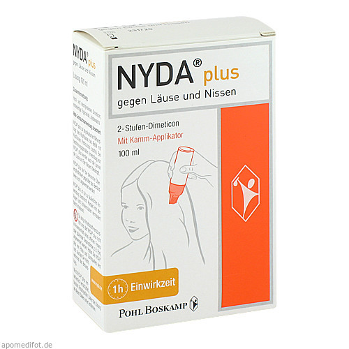 NYDA plus mit Kamm-Applikator, 100 ML, G. Pohl-Boskamp GmbH & Co. KG
