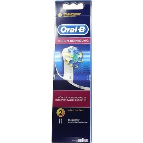 Oral-B Aufsteck Tiefen-R 2er, 2 ST, Procter & Gamble GmbH