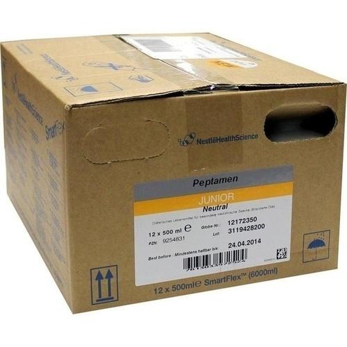 PEPTAMEN Junior Neutral SmartFlex fluessig, 12X500 ML, Nestle Health Science (Deutschland) GmbH