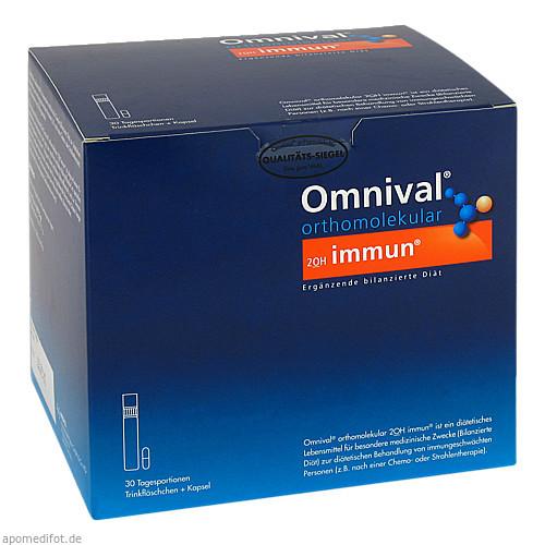 OMNIVAL ORTHOMOLEKULAR 2OH immun 30 TP Trinkfl., 30 ST, Med Pharma Service GmbH