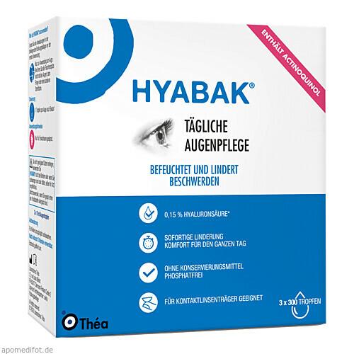 Hyabak, 3X10 ML, Thea Pharma GmbH
