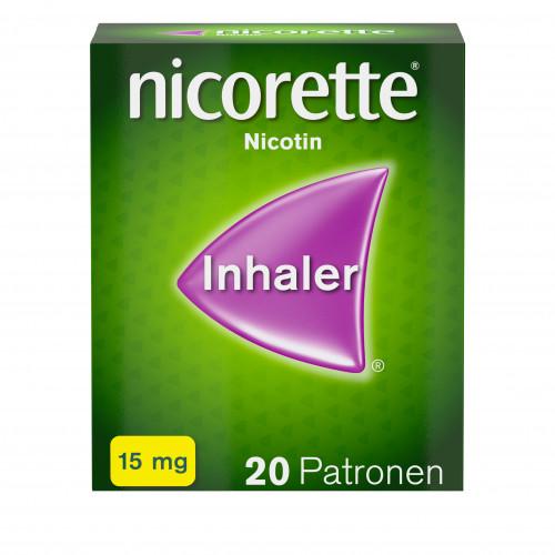 Nicorette Inhaler 15mg, 20 ST, Johnson & Johnson GmbH (Otc)
