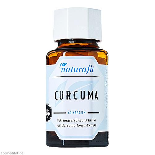 Naturafit Curcuma, 60 ST, Naturafit GmbH