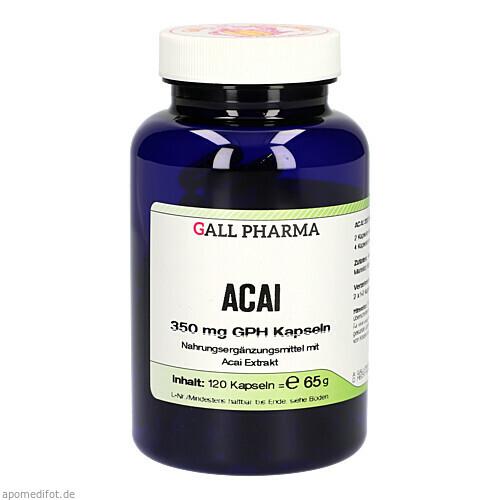 Acai 350 mg GPH Kapseln, 120 ST, Hecht-Pharma GmbH
