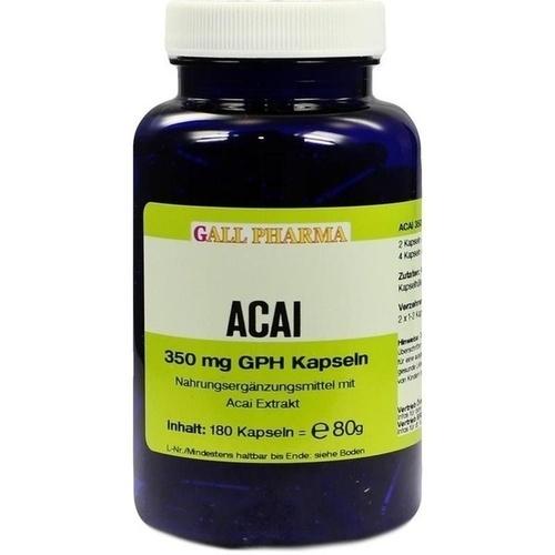 Acai 350 mg GPH Kapseln, 180 ST, Hecht-Pharma GmbH