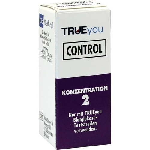 TRUEyou Control Konzentration 2, 3 ML, Nipro Diagnostics Germany GmbH