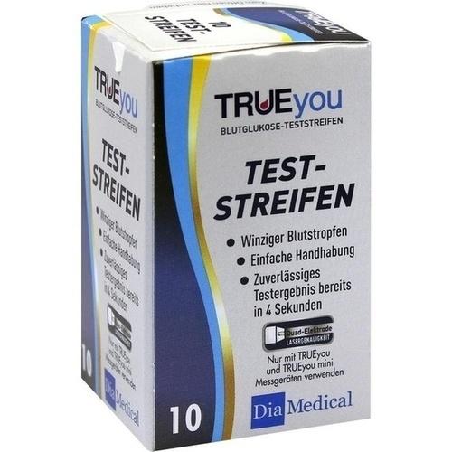 TRUEyou Blutglukose Teststreifen, 10 ST, Nipro Diagnostics Germany GmbH