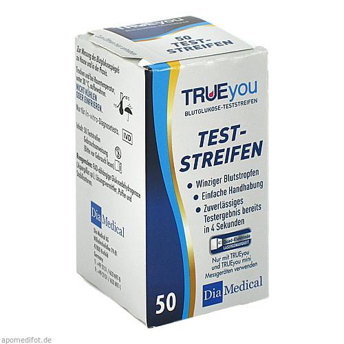 TRUEyou Blutglukose Teststreifen, 50 ST, Nipro Diagnostics Germany GmbH