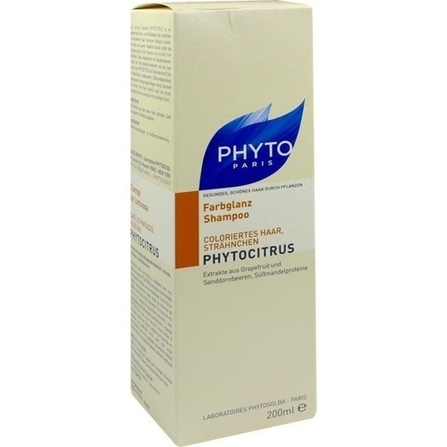 PHYTO PHYTOCITRUS Shampoo Coloriertes Haar, 200 ML, Ales Groupe Cosmetic Deutschland GmbH