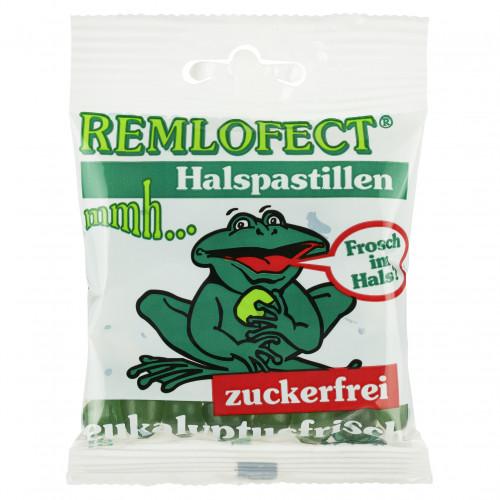 REMLOFECT Halspastillen zuckerfr. eukalyptusfrisch, 50 G, Abanta Pharma GmbH