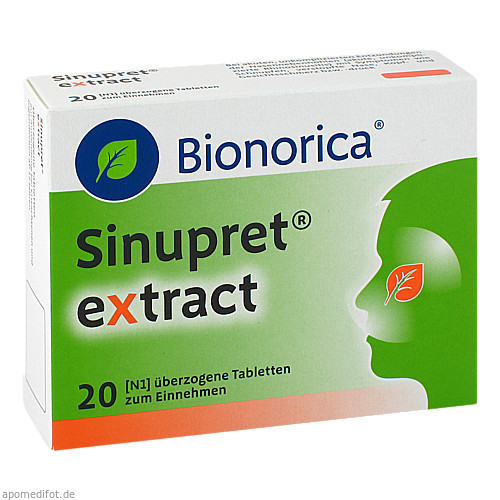 Sinupret extract, 20 ST, Bionorica Se
