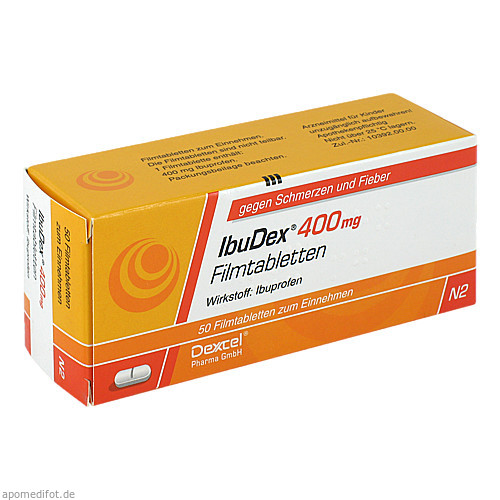 IbuDex 400mg, 50 ST, Dexcel Pharma GmbH