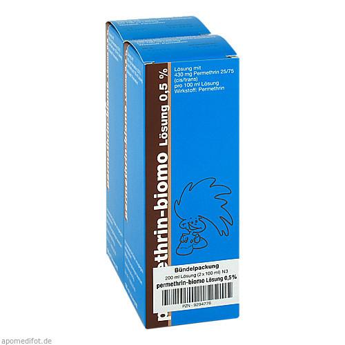 permethrin-biomo Lösung 0.5%, 200 ML, Biomo Pharma GmbH