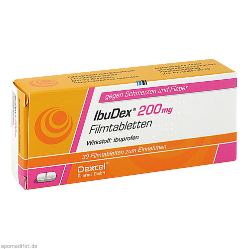IbuDex 200mg, 30 ST, Dexcel Pharma GmbH