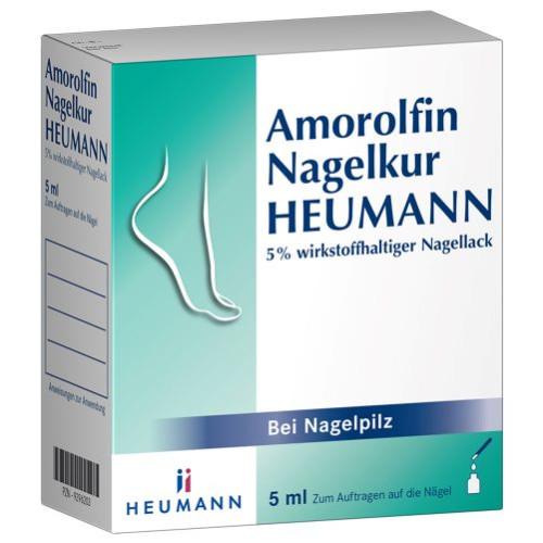 Amorolfin Nagelkur Heumann 5% wirkstoffh.Nagellack, 5 ML, Heumann Pharma GmbH & Co. Generica KG