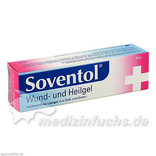 SOVENTOL Wund- und Heilgel, 20 G, Medice Arzneimittel Pütter GmbH & Co. KG