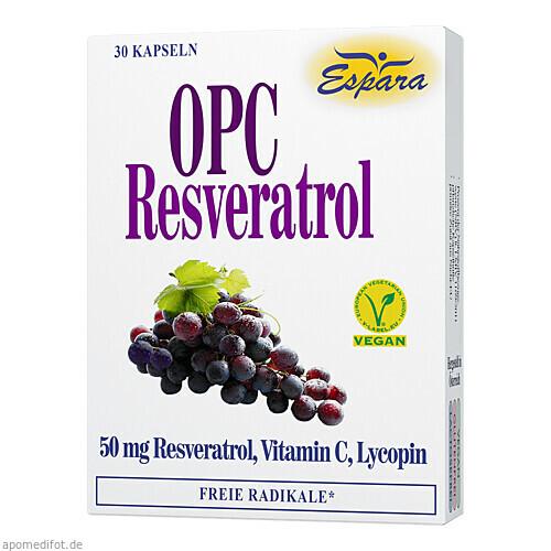 OPC Resveratrol, 30 ST, Espara GmbH