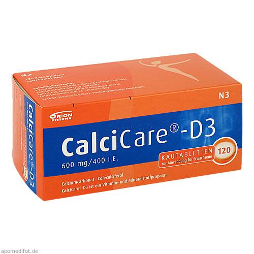 CalciCare-D3, 120 ST, ORION Pharma GmbH