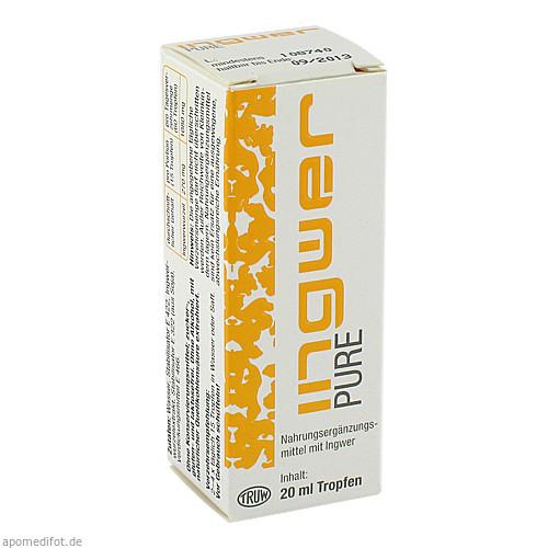 Ingwer PURE, 20 ML, Med Pharma Service GmbH