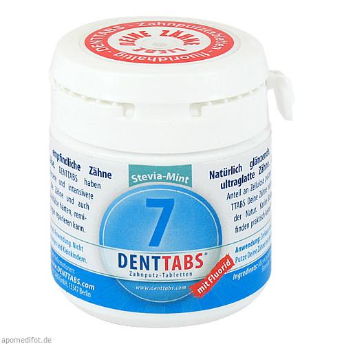 DENTTABS-Zahnputztabletten stevia-mint, 125 ST, Dr.Dagmar Lohmann Pharma + Medical GmbH