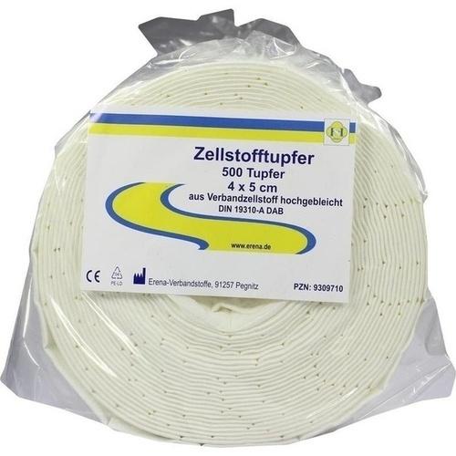 Erena Zellstofftupfer 4x5 cm, 500 ST, Erena Verbandstoffe GmbH & Co. KG