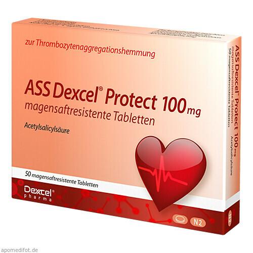 ASS Dexcel Protect 100mg, 50 ST, Dexcel Pharma GmbH