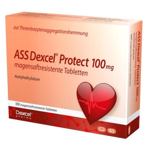 ASS Dexcel Protect 100mg, 100 ST, Dexcel Pharma GmbH
