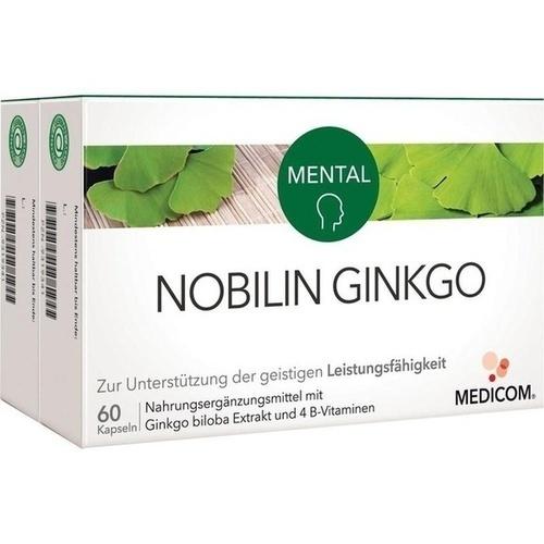 Nobilin Ginkgo, 2X60 ST, Medicom Pharma GmbH