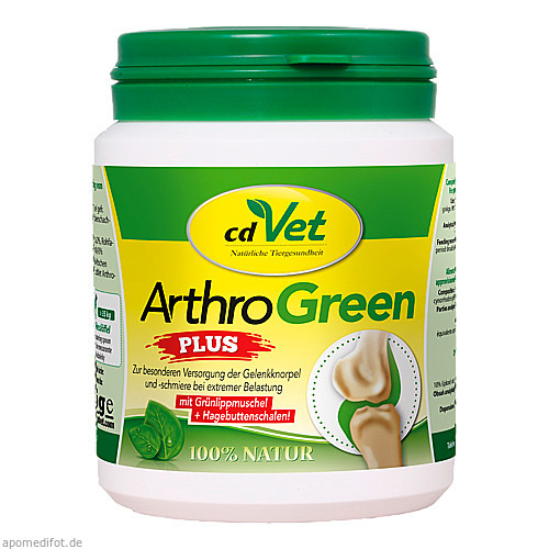 ArthroGreen plus - NEU - vet, 75 G, cd Vet Naturprodukte GmbH