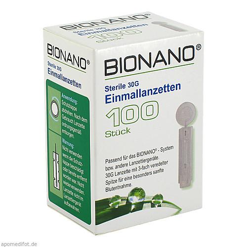 BIONANO Einmallanzetten, 100 ST, IMACO GmbH