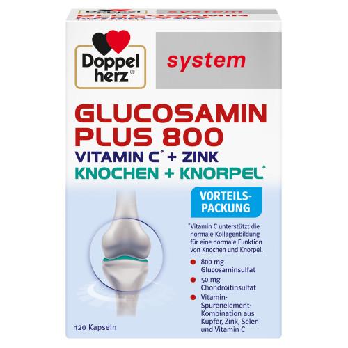 Doppelherz Glucosamin Plus 800 system, 120 ST, Queisser Pharma GmbH & Co. KG