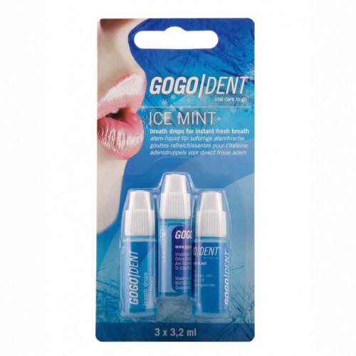 GoGo Dent Atem-Liquid Ice Mint, 3X3.2 ML, Werner Schmidt Pharma GmbH