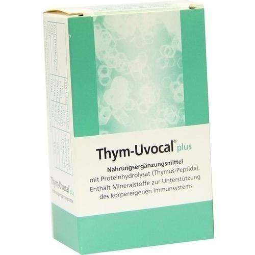 Thym Uvocal Plus Nahrungsergänzungsmittel, 30 ST, Strathmann GmbH & Co. KG