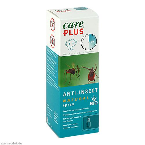 Care Plus Anti-Insect Natural Spray 40% Citriodiol, 60 ML, Tropenzorg B.V.