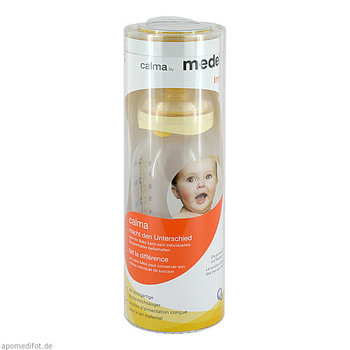 Medela Calma mit Milchflasche 250ml, 1 ST, Medela Medizintechnik GmbH & Co. Handels KG