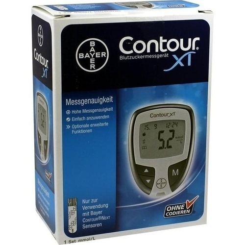CONTOUR XT Set mmol/l, 1 ST, Ascensia Diabetes Care Deutschland GmbH