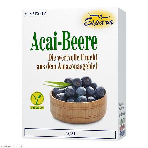 Acai-Beere, 60 ST, Espara GmbH
