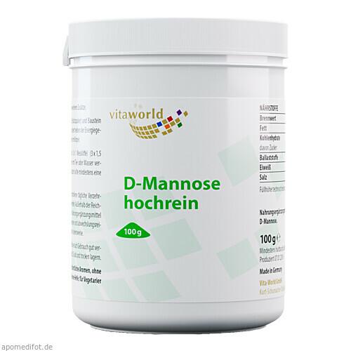 D-Mannose hochrein, 100 G, Vita World GmbH