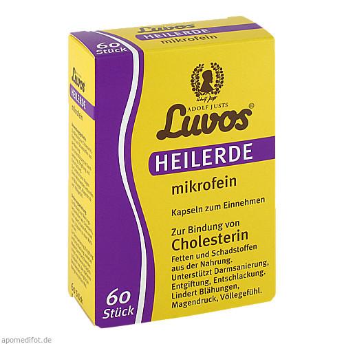 Luvos Heilerde mikrofein, 60 ST, Heilerde-Gesellschaft Luvos Just GmbH & Co. KG