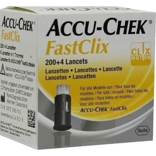 ACCU CHEK FastClix Lanzetten, 204 ST, CC-Pharma GmbH